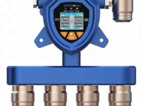 SGA-502/503/504-固定式隔爆型三氯氧磷多合一气体报警器