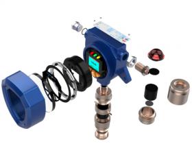 2019升级款SGA-501系列化工厂在线三氯氧磷气体报警器