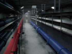 戈壁城市综合管廊建设氧气报警仪高原管廊项目缺氧气体报警器