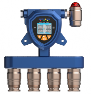 SGA-502/503/504-固定式隔爆型甲硫醇多合一气体报警器