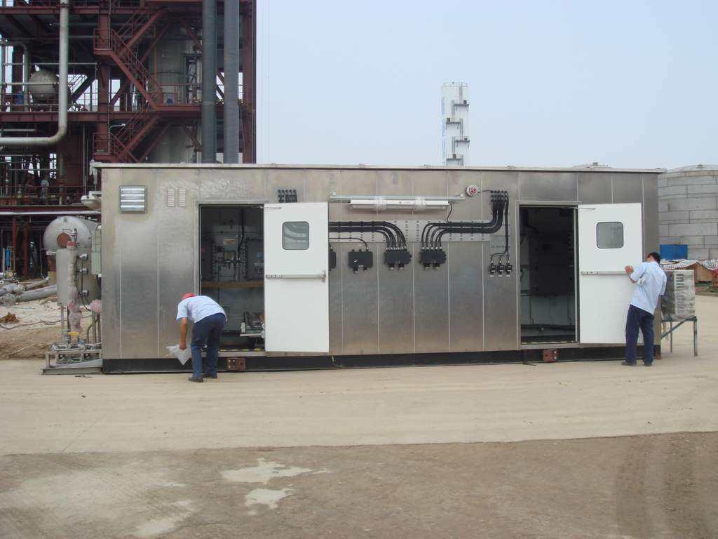 可燃气体报警器在分析小屋里的应用
