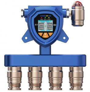 SGA-502/503/504-固定式隔爆型氢气多合一气体报警器