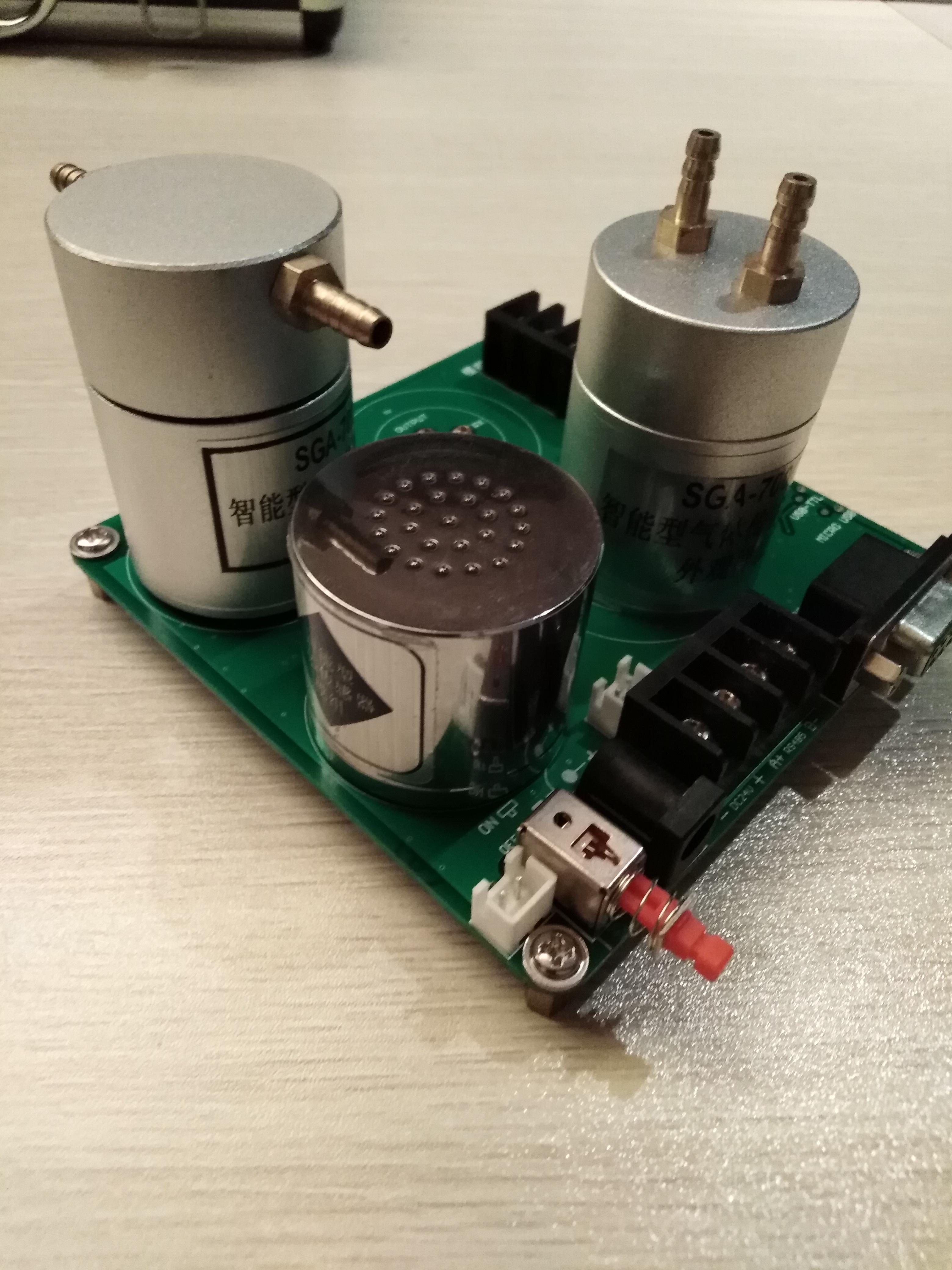 2018款输出TLL串口信号三氯氧磷气体传感器模组优化款