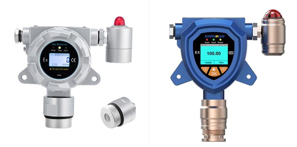 2020款壁挂式安装隔爆型盐酸气体报警器盐酸探测仪盐酸检测仪