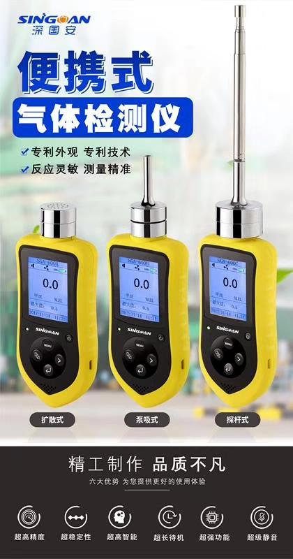 只限3月份便捷泵吸式氧化乙烯报警器特价