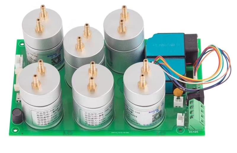 2018-2020环境监测集成商专用硒化氢气体传感器模组气体传感器模块串口输出传感器