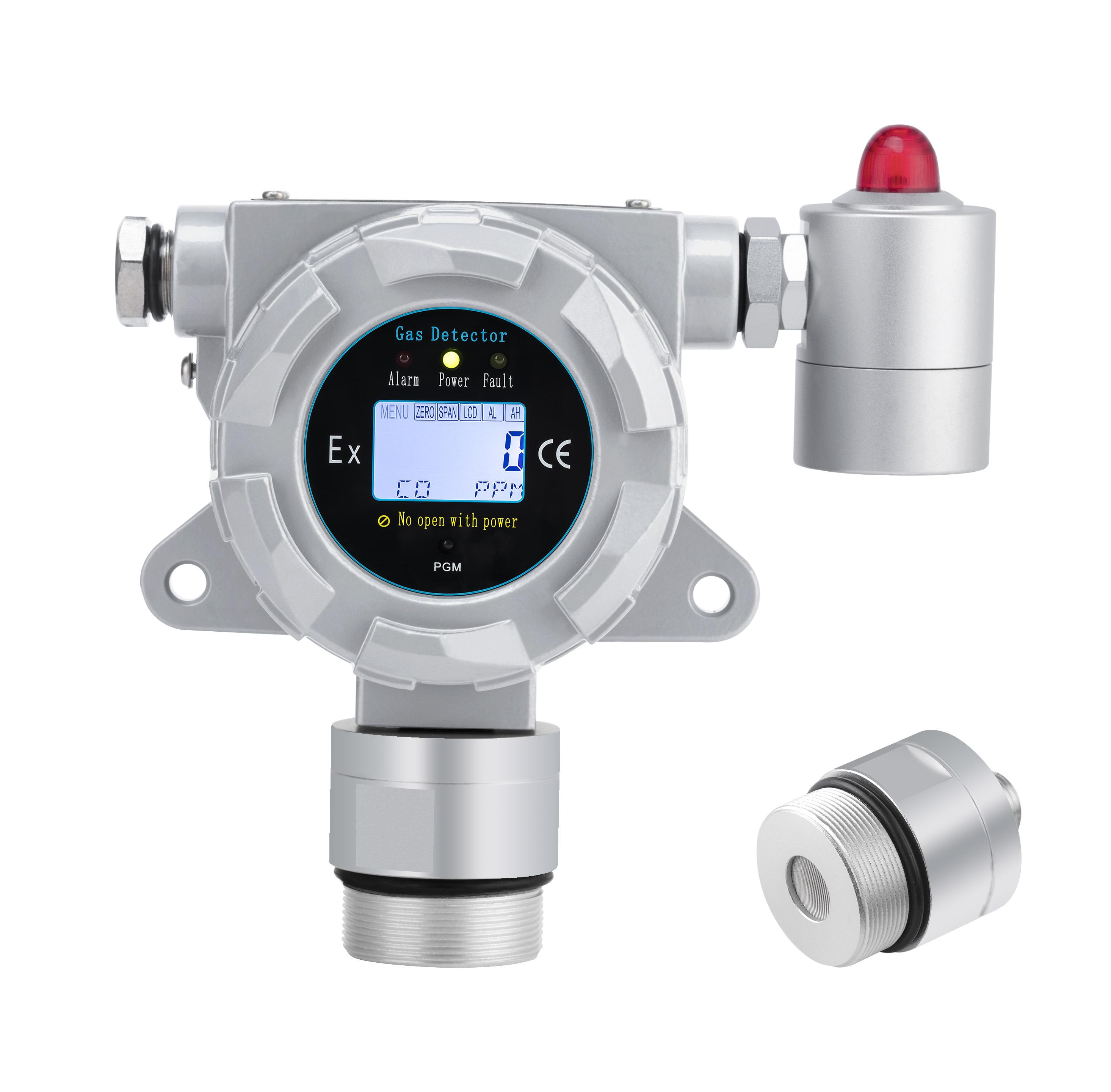 管道式二氧化碳气体报警器厂家排名-防爆二氧化碳检测仪管道式安装