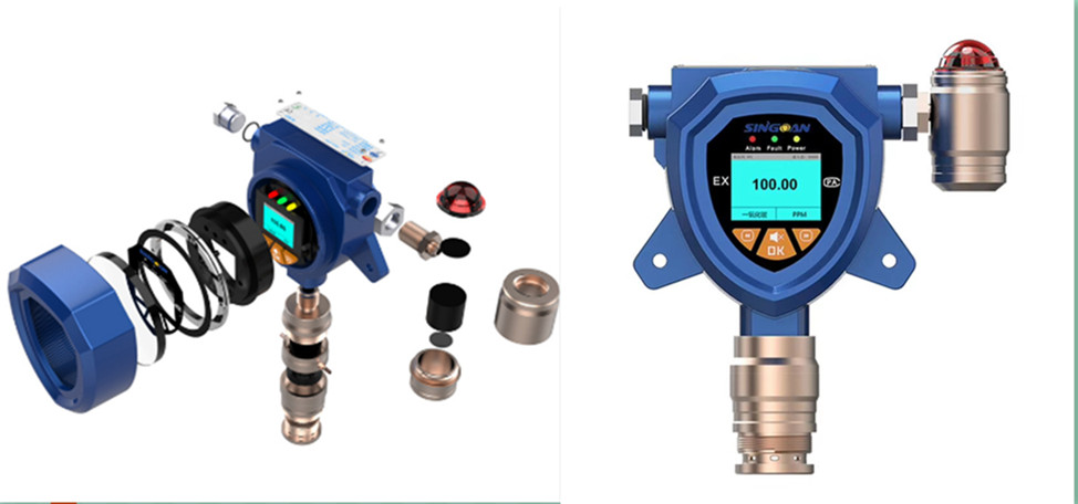 九江在线式多参数甲硫醇浓度报警器厂家排名-2020款多参数气体析仪多少钱
