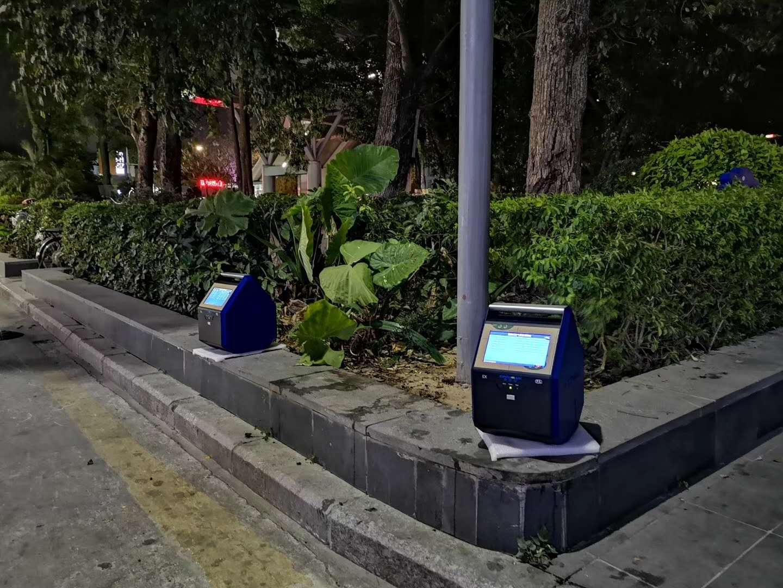 河南地区车载移动式大气质量监测器