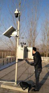 福建大气环境监测站带环保CCEP认证包验收通过